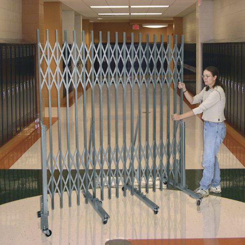 Portable Superior Gate - HALLOWELL Superior Portable Gate - 9' Extended Width