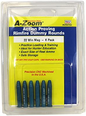 Amazon.com: A-Zoom 6-Pack precisión Snap Caps Fits 22 Win ...