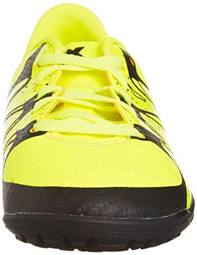 TF 15 Nero Calcio da Giallo Junior Scarpa X 3 ADIDAS 46wPqP