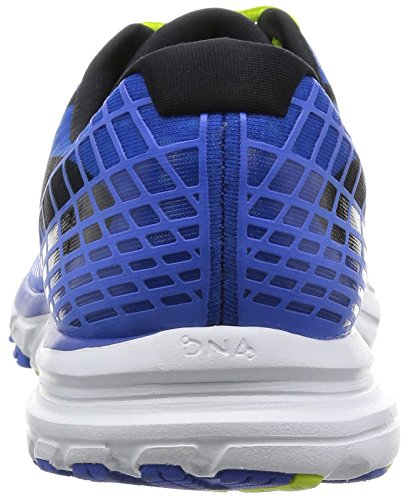 Brooks Herren Launch 3 Laufschuhe Electric Brooks Blue/lime Punch/black