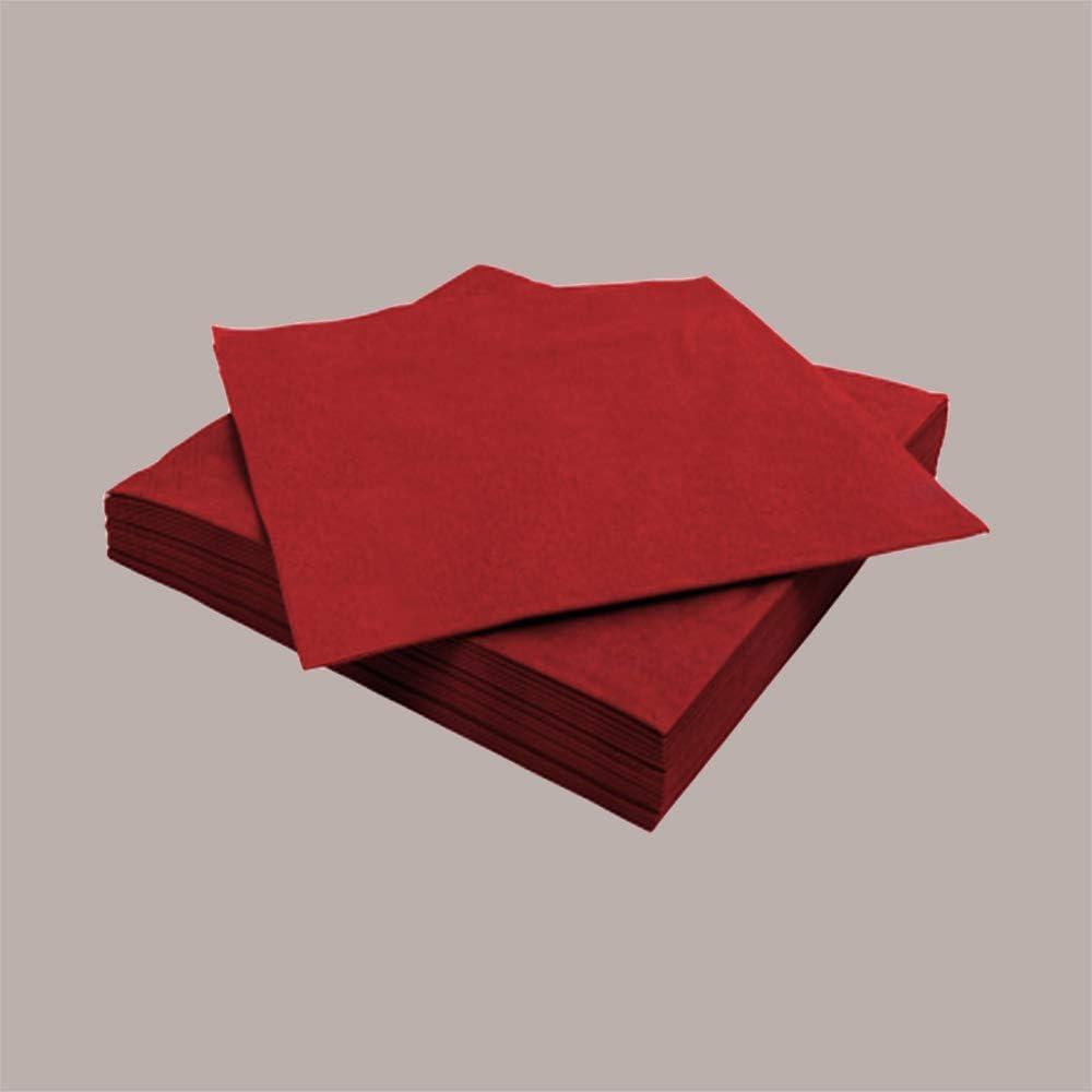 LUCGEL Srl 80 Pezzi Tovaglioli di Carta Colorati GRIGIO MIRO ASTOR 38x38 Grey Napkins
