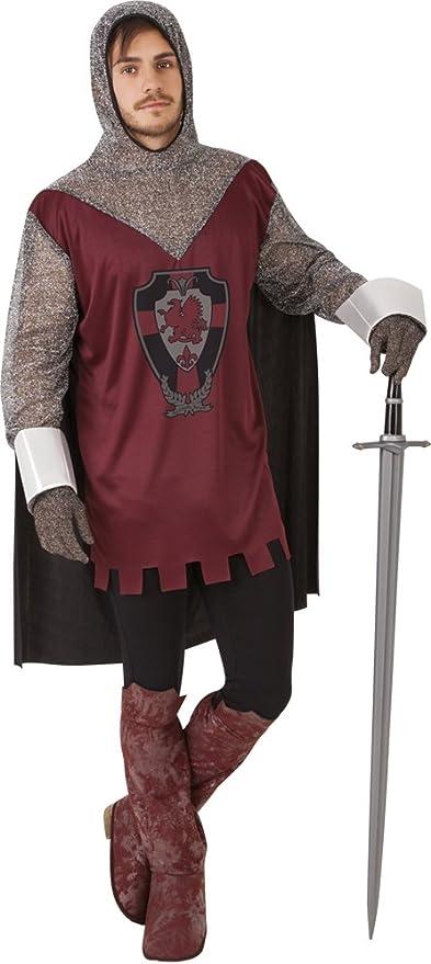 Rubies - Disfraz de caballero medieval, para hombre, talla única ...