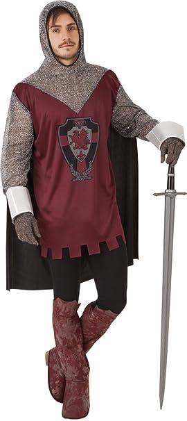 Rubies - Disfraz de caballero medieval, para hombre, talla ...