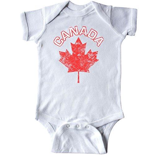 inktastic - Canada Maple Leaf Infant Creeper Newborn White 10800