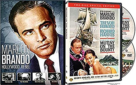 Film's Hollywood Reel Marlon Brando DVD Collection Wild one