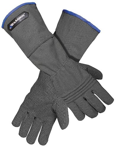 Cut Resistant Gloves, Gray, L, PR