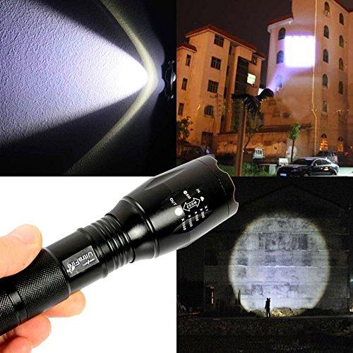 2500LM 5 Modes Adjustable Focus CREE XML T6 LED 18650 Flashlight Torch UltraFire