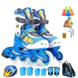QMMD Adjustable Inline Skates for Kids and Adults
