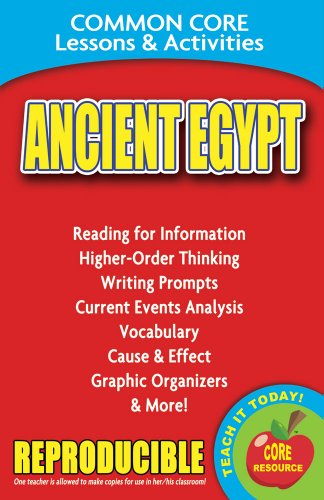 Ancient Egypt - Common Core Lessons and Activities