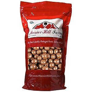 Gourmet Milk Chocolate covered Espresso Beans, Hoosier Hill Farm (2 lb Bag)