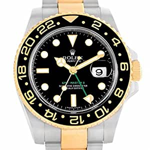 Rolex GMT Master II Automatic-self-Wind Male Watch 116713 (Certified Pre-Owned)