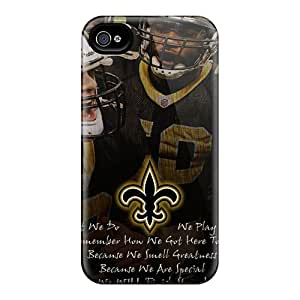 Cases-best-covers Iphone 6plus Shock Absorption Hard Cell-phone Case Custom Trendy New Orleans Saints Skin [ufd5284Hyix]
