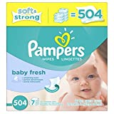 #10: Pampers Baby Wipes Baby Fresh 7X Refill, 504 Count