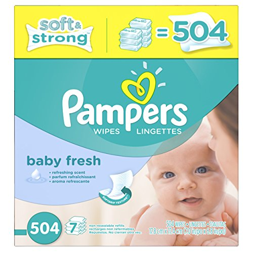 Baby Wipes Baby Fresh 7X 504 count