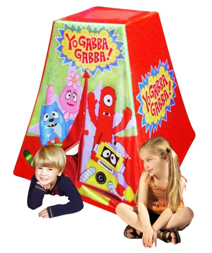 Play tent by Yo Gabba Gabba