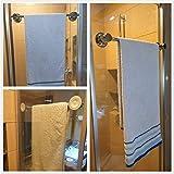 JiePai 24 inch Vacuum Suction Cup Towel
