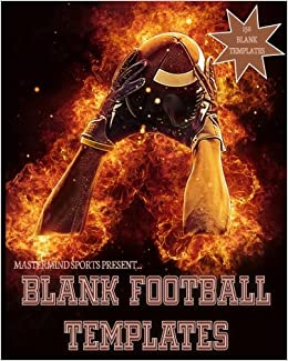 Blank Football Templates Template Book Play Designer 8x10 150 Pages Glossy Finish Field Mastermind Sports