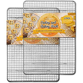 """Browne-Halco 12/"""" Footed DRYING AND BAKING RACK"""