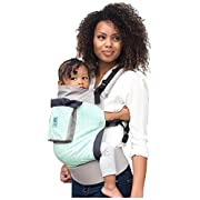 lillebaby 4 in 1 Essentials Baby Carrier, Mint/Arrows