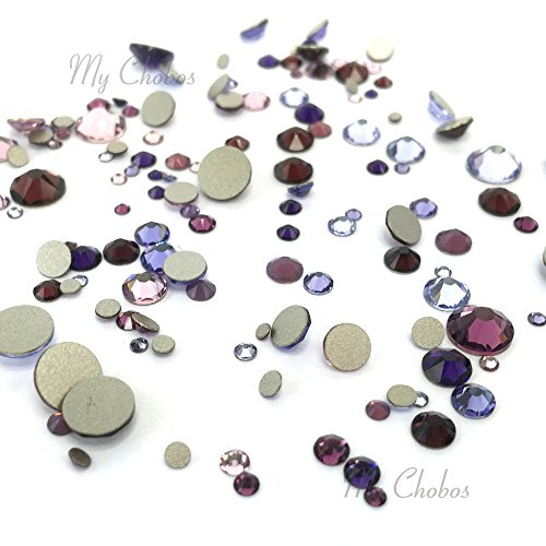 Amethyst 144 Pcs Swarovski Crystal - 8