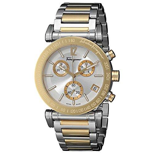 Salvatore-Ferragamo-Mens-FP1840014-Salvatore-Analog-Display-Quartz-Two-Tone-Watch
