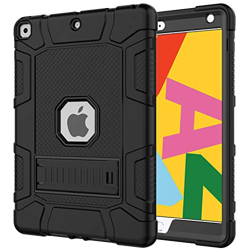 Purchase Azzsy iPad 7th Generation Case,iPad 10.2 2019 Case, Slim Heavy Duty Shockproof Rugged High Impact Protective Case for iPad 7th Generation 10.2 inch 2019 Release,Black