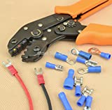 clock kit car - 1 piece Insulated Terminals Crimping Plier Capacity 0.25-2.5mm2 crimp tool AWG22-14 crimp terminal