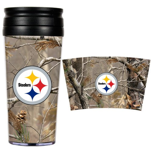 NFL Pittsburgh Steelers Open Field Travel (Pittsburgh Steelers Travel Mug)