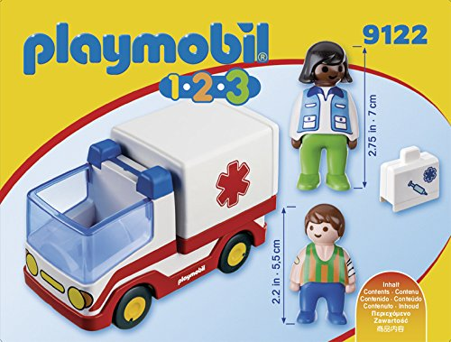Playmobil 1.2.3 Ambulancia 2