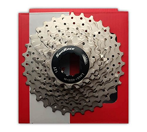 Sunrace 12-32T Road Bike Cassette 10-Speed Alloy Spider - compatible w/ Shimano & SRAM