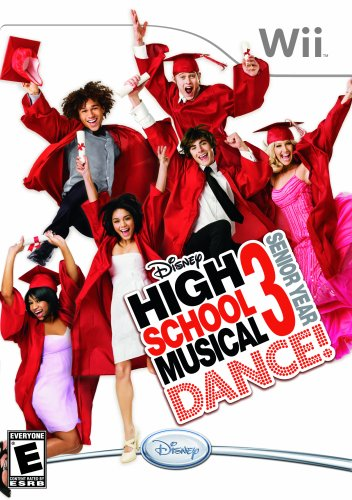 - Disney High School Musical 3: Senior Year Dance! - Nintendo Wii