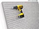 diamondLife HPB2448.G PegBoard X2, 24 x 48, Galvanized Steel by diamondLife