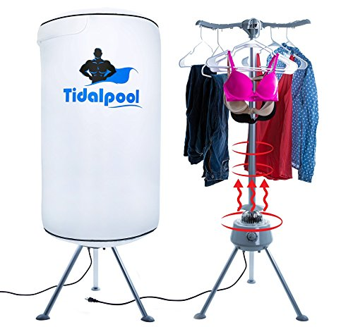 Tidalpool Portable Clothes Dryer - Electric Laundry Drying Rack with