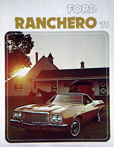 1975 75 Ford RANCHERO Truck BROCHURE GT 500 Squire (Ranchero Brochure)