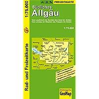 GeoMap Karten, Südliches Allgäu