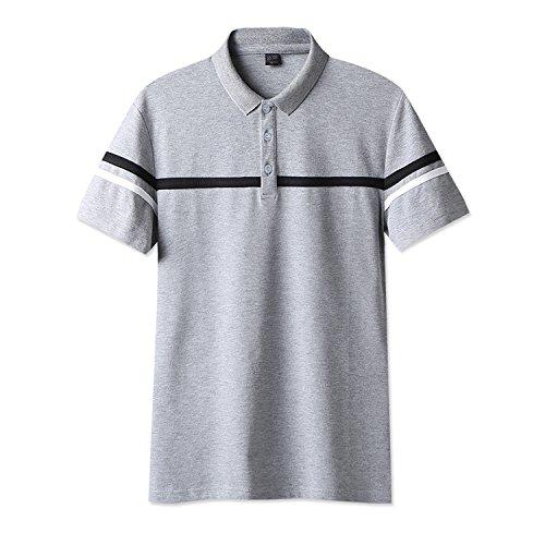 SHEYA ゴルフトップス メンズ 半袖 白 ボタンダウン 無地 トップス カジュアル メンズ スポーツ ウェア メンズ 半袖 tシャツ ポロシャツ 春 夏