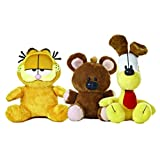 Aurora Garfield The Cat Plush Set: Garfield, Odie, Pooky by World (6-10-Inch)