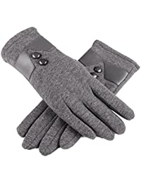 Women's Touch Screen Gloves Winter Warm Texting Gloves for Outdoors