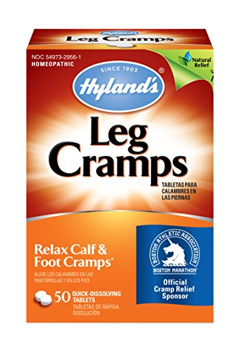 (Hyland's Leg Cramps Tablets, Natural Relief of Calf, Leg and Foot Cramp, 50 Count)