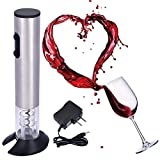 Electric Wine Opener Automatic wine bottle openers with charger and Foil Cutter For Sale