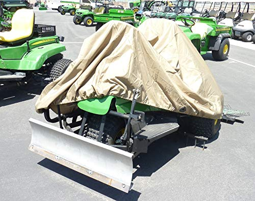 "Larger riding Lawn Mower/Zero Turn Mower/Tractor Cover – 100""Lx48""Wx45""H"