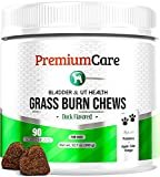 Best Dog Urine Neutralizers - PREMIUM CARE Grass Burn Spot Chews for Dogs Review