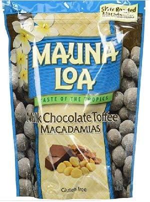 (3袋) Mauna Loa Cookies & Crème Flavored Macadamias, 3袋x10 Ounce クッキークリームマカダミアナッツ (海外直送品)