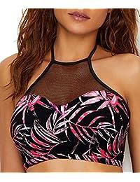 Freya Sunset Palm High Neck Bikini Top