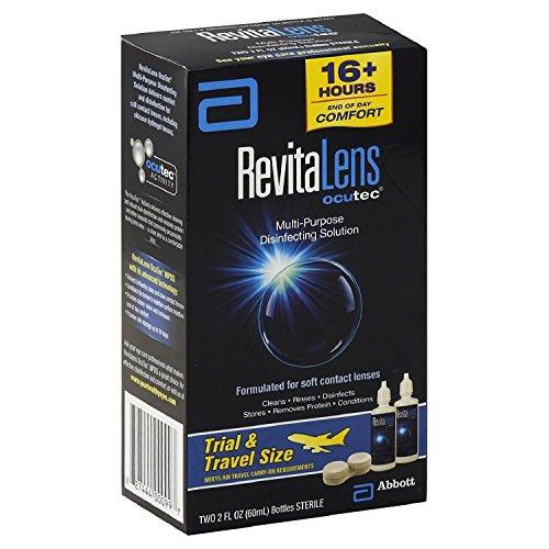 - Blink RevitaLens Multi-Purpose Disinfecting Solution Travel Pack, Two 2 oz