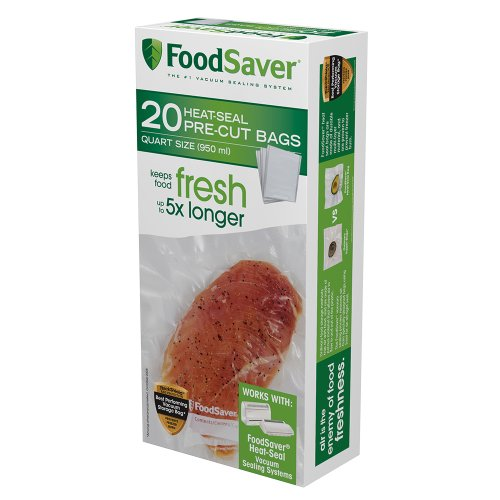 FoodSaver 20 Quart-sized Bags (Vacuum Seal Quart Bags compare prices)