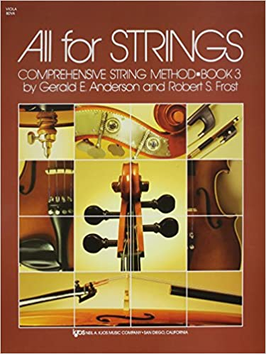 80VA - All For Strings Book 3: Viola