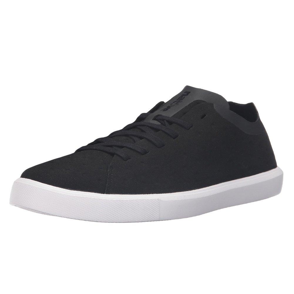 native Women's Monaco Low Non Perf Fashion Sneaker B01MS7206C 10.5 B(M) US Women / 8.5 D(M) US Men|Jiffy Black Ct/Shell White