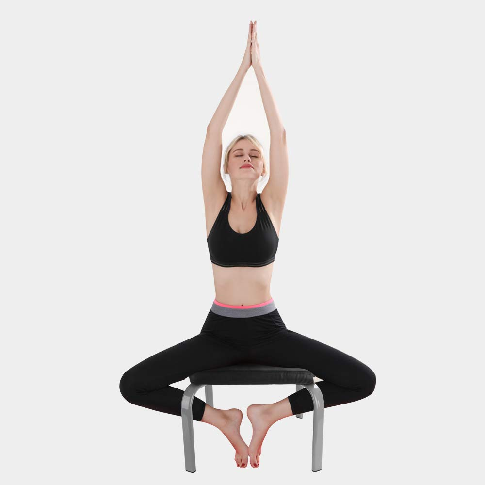 Scool Yoga Headstand Bench Yoga Inversion Chair Great for Workout, Fitness and Gym by Scool (Image #6)