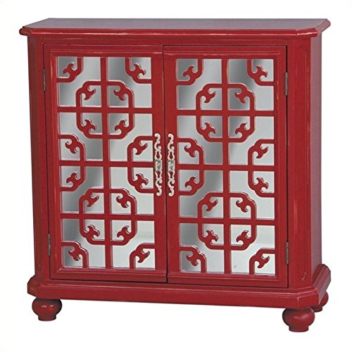 Pulaski Tatum Door Chest, 37 by 16 by 33-Inch, (Asian Inspired Furniture)